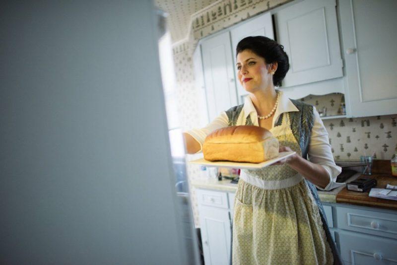 As America's favourite mom, Martha Swanson.